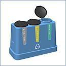 Pojemnik PW026 pojemniki do segregacji odpadów zewnątrz kosze do segregacji śmieci segregacja odpadów