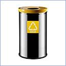 Pojemnik PW91/1 pojemniki do segregacji odpadów wewnątrz kosze do segregacji śmieci segregacja odpadów