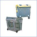 Pojemnik PZ019 pojemniki do segregacji odpadów zewnątrz kosze do segregacji śmieci segregacja odpadów