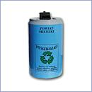 Pojemnik PZ021 pojemniki do segregacji odpadów zewnątrz kosze do segregacji śmieci segregacja odpadów