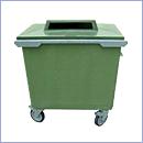 Pojemnik PZ023 pojemniki do segregacji odpadów zewnątrz kosze do segregacji śmieci segregacja odpadów
