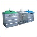 Pojemnik PZ025 pojemniki do segregacji odpadów zewnątrz kosze do segregacji śmieci segregacja odpadów