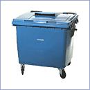 Pojemnik PZ026 pojemniki do segregacji odpadów zewnątrz kosze do segregacji śmieci segregacja odpadów