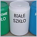Pojemnik PZ303 pojemniki do segregacji odpadów zewnątrz kosze do segregacji śmieci segregacja odpadów