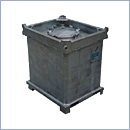 Pojemnik na odpady plynne PN026 pojemniki na odpady niebezpieczne