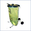 Stojak SW004/2P pojemniki do segregacji stojaki na worki segregacja odpadów