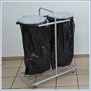 Stojak SW7R pojemniki do segregacji stojaki na worki segregacja odpadów
