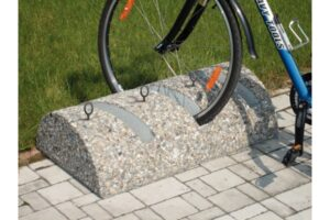 Stojak rowerowy SR75B stojaki rowerowe meble miejskie mała architektura miejska