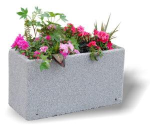 Donica betonowa DB1 donice betonowe mebel miejski mała architektura miejska