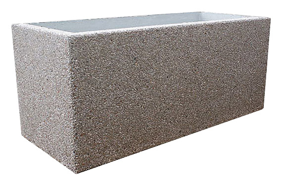 Donica betonowa DB31 donice betonowe mebel miejski mała architektura miejska