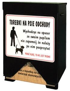 Kaseta dystrybutor sprzątanie po psach kosze na psie odchody stacje na psie kupy dystrybutory woreczki-2