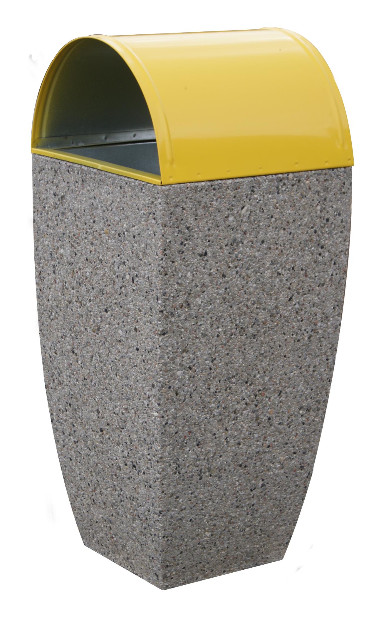 Kosz betonowy KT32-3