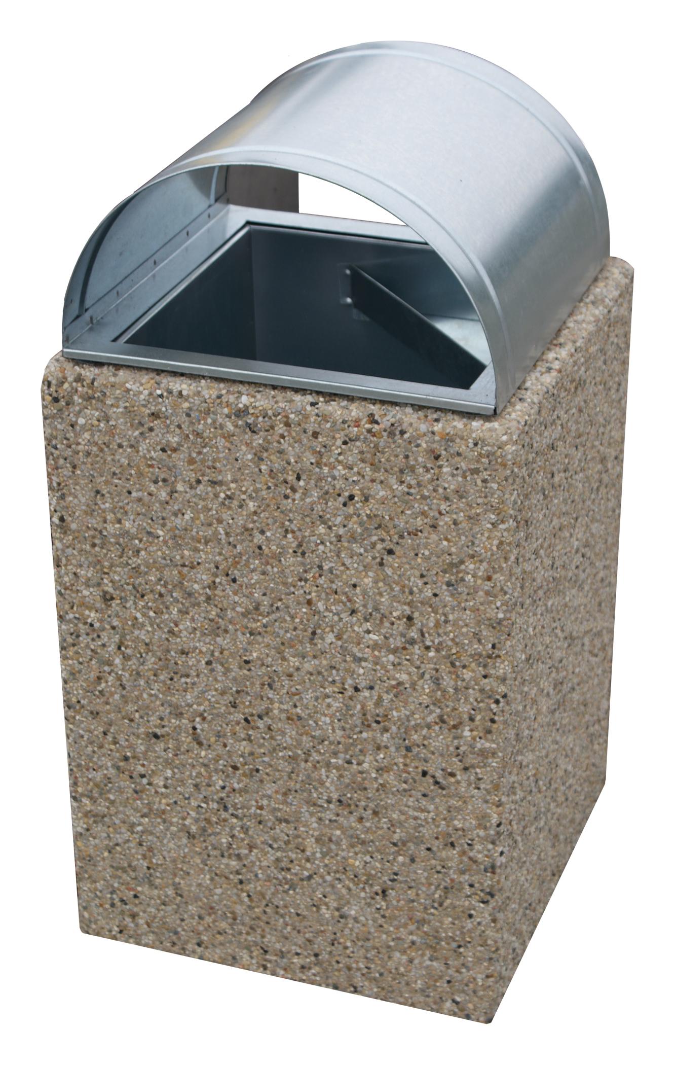 Kosz betonowy KT34-2