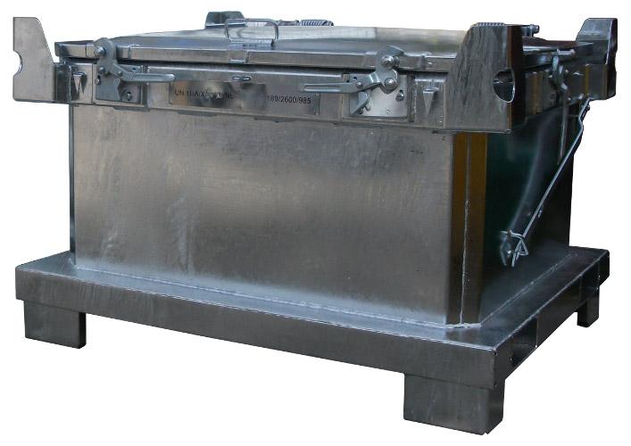 Pojemnik PN31 na odpady niebezpieczne stałe-1