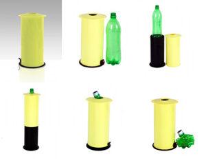 Zgniatarka do butelek i puszek stojąca segregacja odpadów-1