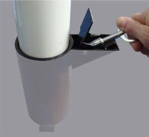 Czyszczenie konserwacja popielnicy słupka papieros KP014
