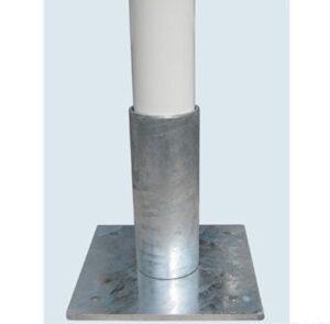 Podstawka do wbetonowania Popielnica papieros słupek KP014