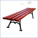 Ławka stalowo-drewniana L154B