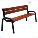 Ławka stalowo-drewniana L161