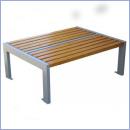 Ławka stalowo-drewniana L167