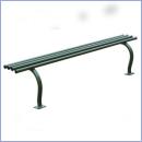 Ławka stalowo-drewniana L170