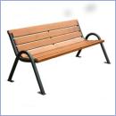 Ławka stalowo-drewniana L173