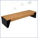 Ławka stalowo-drewniana L179