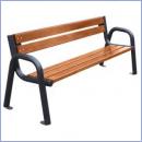 Ławka stalowo-drewniana L181