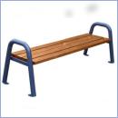 Ławka stalowo-drewniana L181B