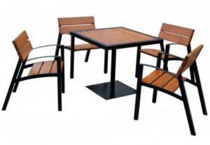 Zestaw ogrodowy MP039, stół oraz krzesła