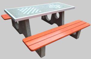 Stół betonowy do gier SG023